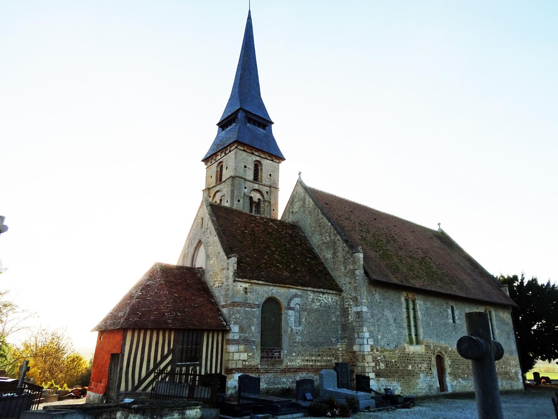 Eglise de Vieux-Pont-en-Auge Façade nord