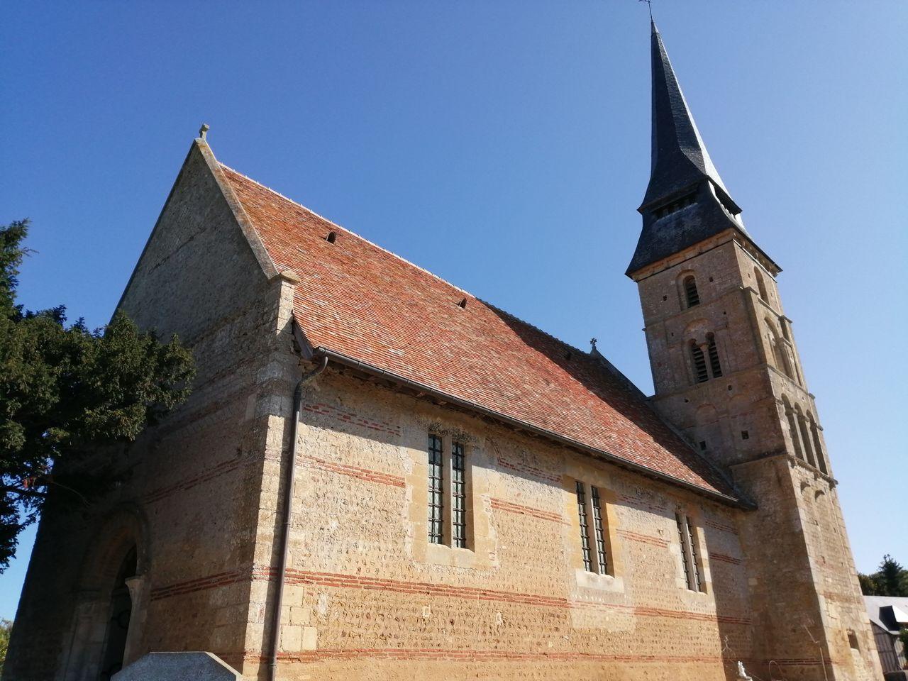 Mur église de Vieux-Pont