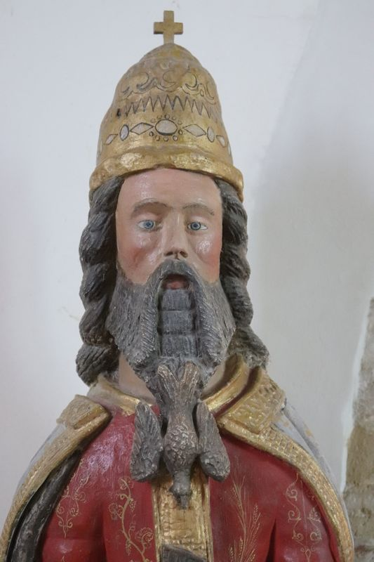 Trinité, Dieu le Père, église de Vieux-Pont